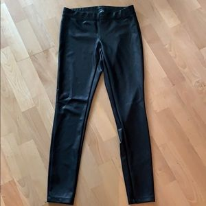 Express faux leather leggings
